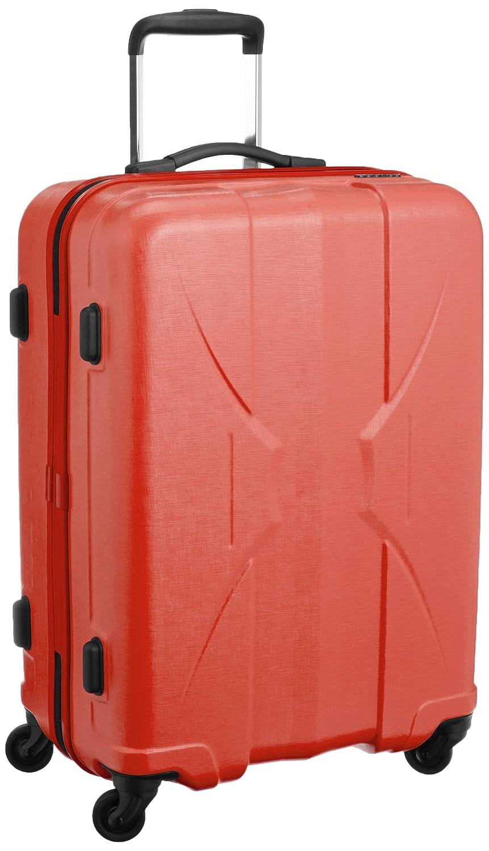 [サンコー] 四季颯 スーツケース shikisou軽量 マクロロン中型 国産 容量53L 縦サイズ64cm 重量2.8kg PSK1-59 B019GHO3OQ レッド レッド