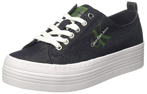 Womens Zolah Canvas Low-Top Sneakers, Dsk 000 Calvin Klein Jeans