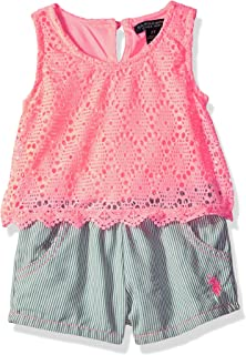 8b72694ff24 Amazon.com  Freestyle Revolution Girls  Little Pineapple Rompers ...