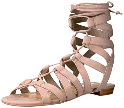 SCHUTZ Women's Berlina Gladiator Sandal, Neutral, ...