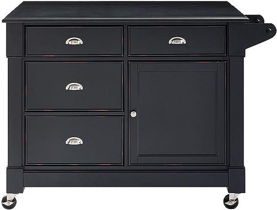 Amazon.com: Crosley Furniture - Carrito de cocina con ...