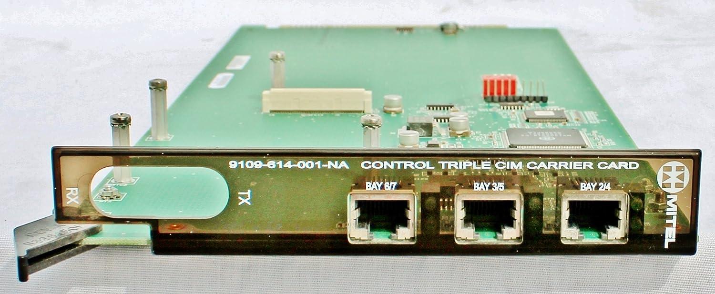 Mitel 9109-614-001-NA Control Triple CIM Carrier Card