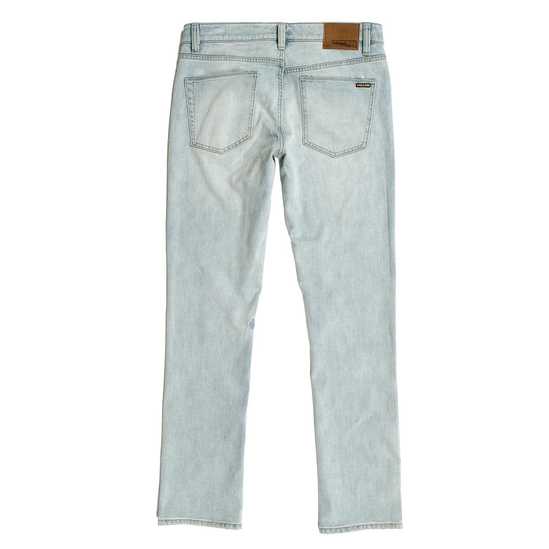 Volcom Mens Vorta Stretch Denim Jean