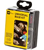 AA Compact Universal Bulb Kit, inc H1, H4 and H7 bulbs - Black