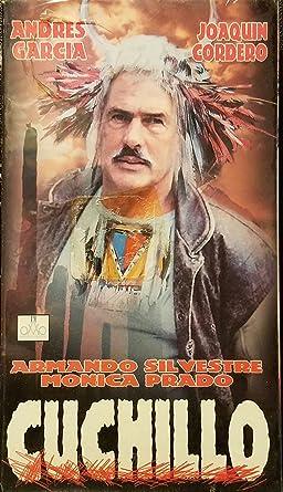 Amazon.com: Cuchillo [VHS]: Andrés García, Armando Silvestre ...