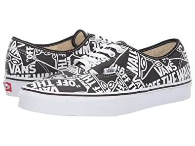 14bd8fb2fb VANS Authentic (OTW RPT) Black True White Size 5.5 M US Women