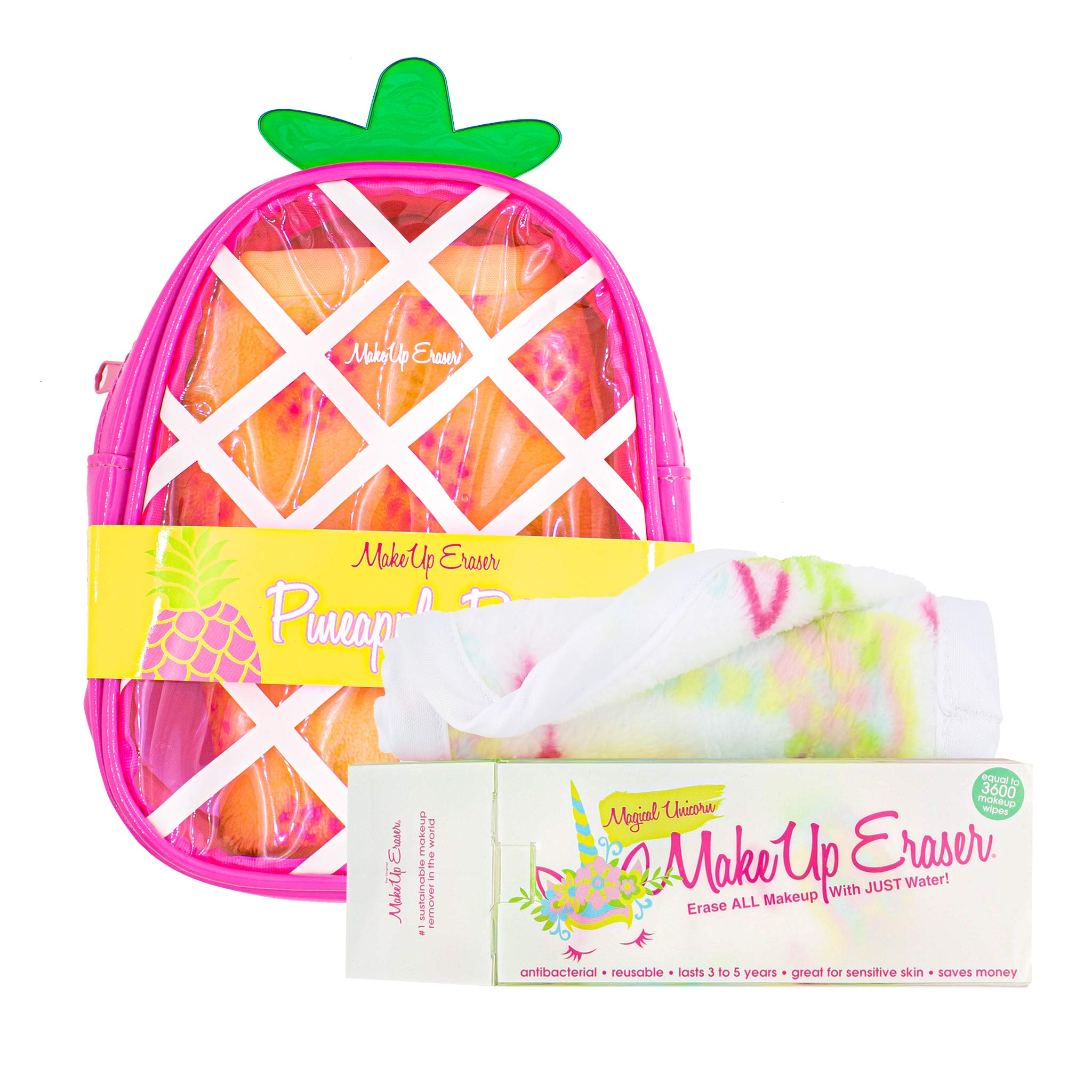 MakeUp Eraser Bundle, Unicorn & Pineapple. by Makeup Eraser