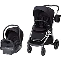 Maxi-Cosi Adorra 2.0 5-in-1 Modular Travel System with Mico Max 30 Infant Car Seat, Night Black