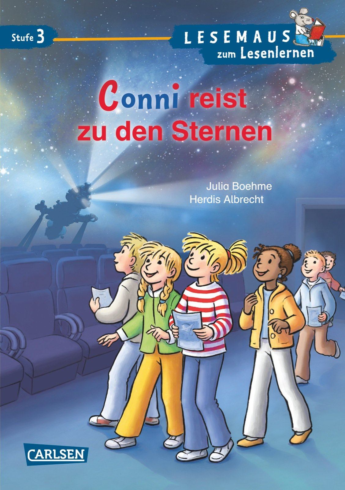 LESEMAUS zum Lesenlernen Stufe 3: Conni reist zu den Sternen