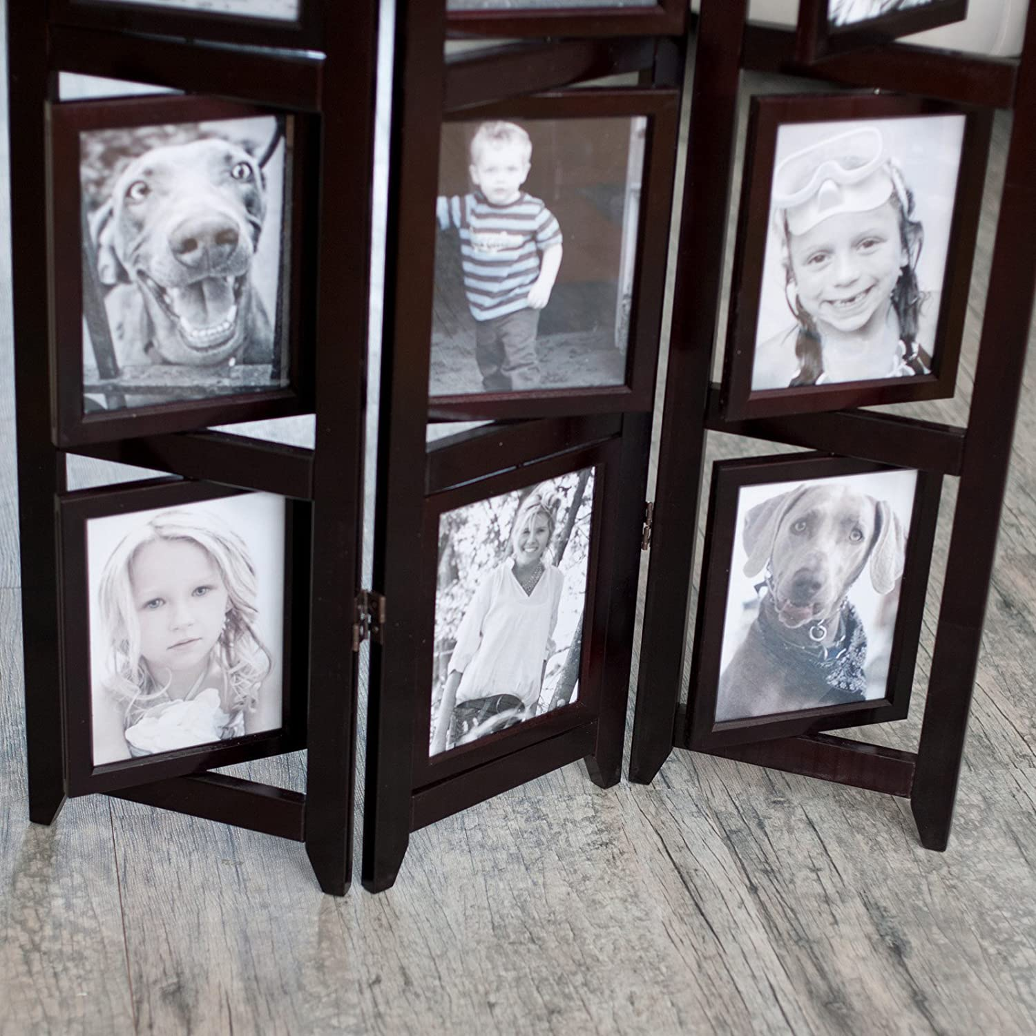Amazon.com: Memories Double Sided Photo Frame Room Divider ...