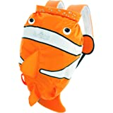 Trunki Kid's Waterproof Swim & Gym Bag – PaddlePak Chuckles ClownFish (Orange)