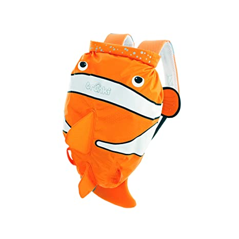 f72cc4f88272 Trunki Kid s Water-Resistant Swim   Gym Bag – PaddlePak Chuckles ClownFish  (Orange)