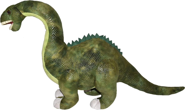 Big Book of Dinosaurs and Plush Diplodocus Gift Set Bundle