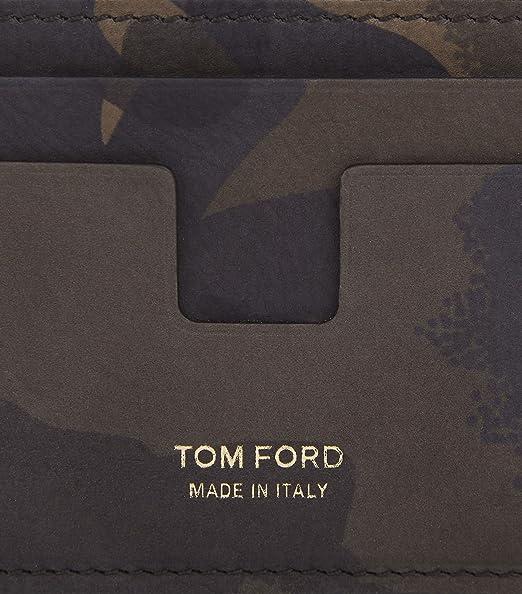 Tom Ford - Cartera para hombre Verde verde talla única: Amazon.es: Equipaje