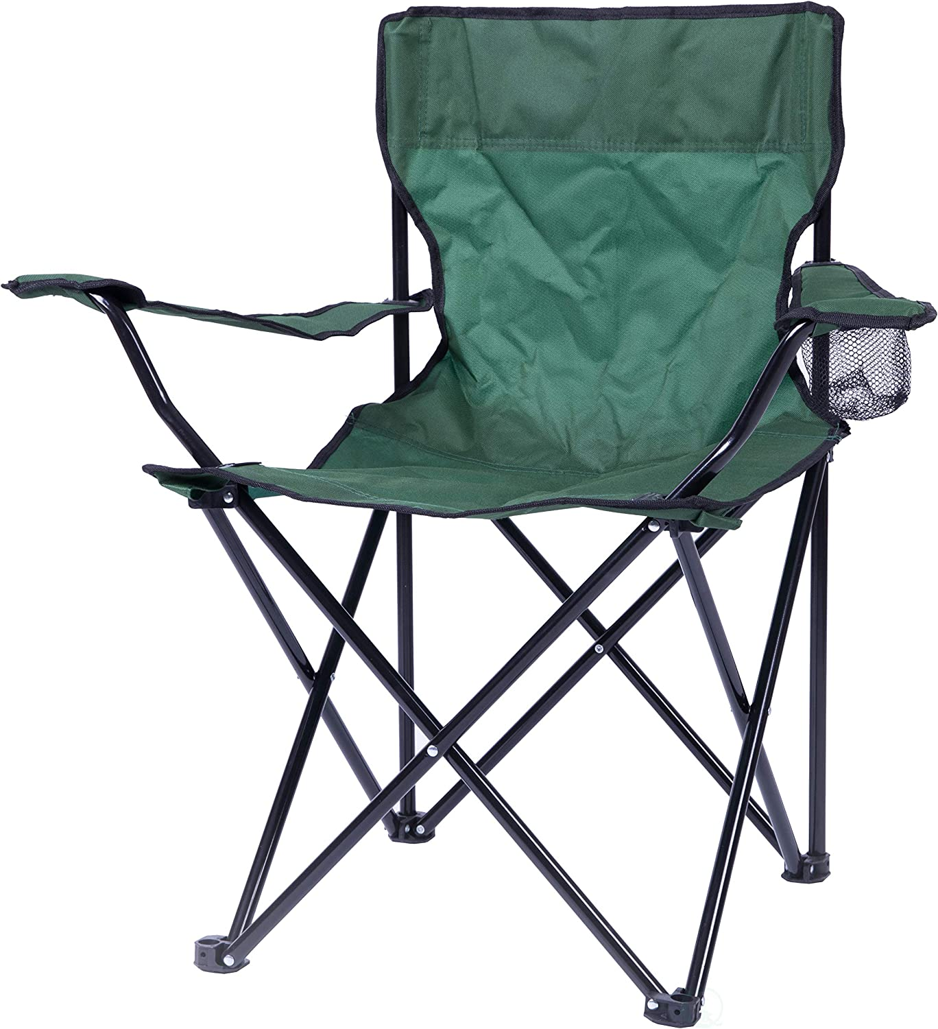 Green PLAYBERG Folding Camping Chair