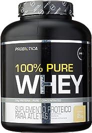 100% Pure Whey - 2000 g Baunilha, Probiótica