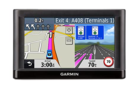 Garmin Map Update Free >> Garmin Nuvi 52lm 5 Sat Nav With Uk And Ireland Maps And Free Lifetime Map Update