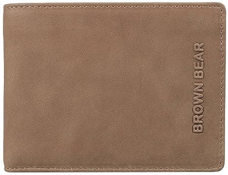 Brown Bear - Cartera para hombre unisex Hombre marrón ...