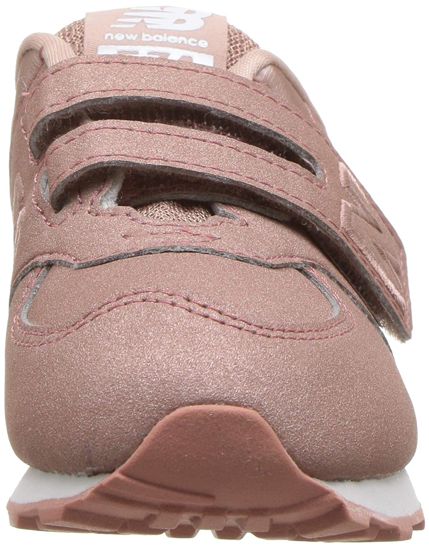 acc88a66c1b67 New Balance Infant 574 Core Velcro Sneakers - Dusk Pink Metallic:  Amazon.co.uk: Shoes & Bags