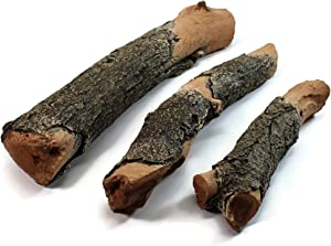 Midwest Hearth Gas Logs Deluxe Decorative Branch and Twig Set   Cast from Real Logs and Hand Painted in USA (Oak 3-Piece)