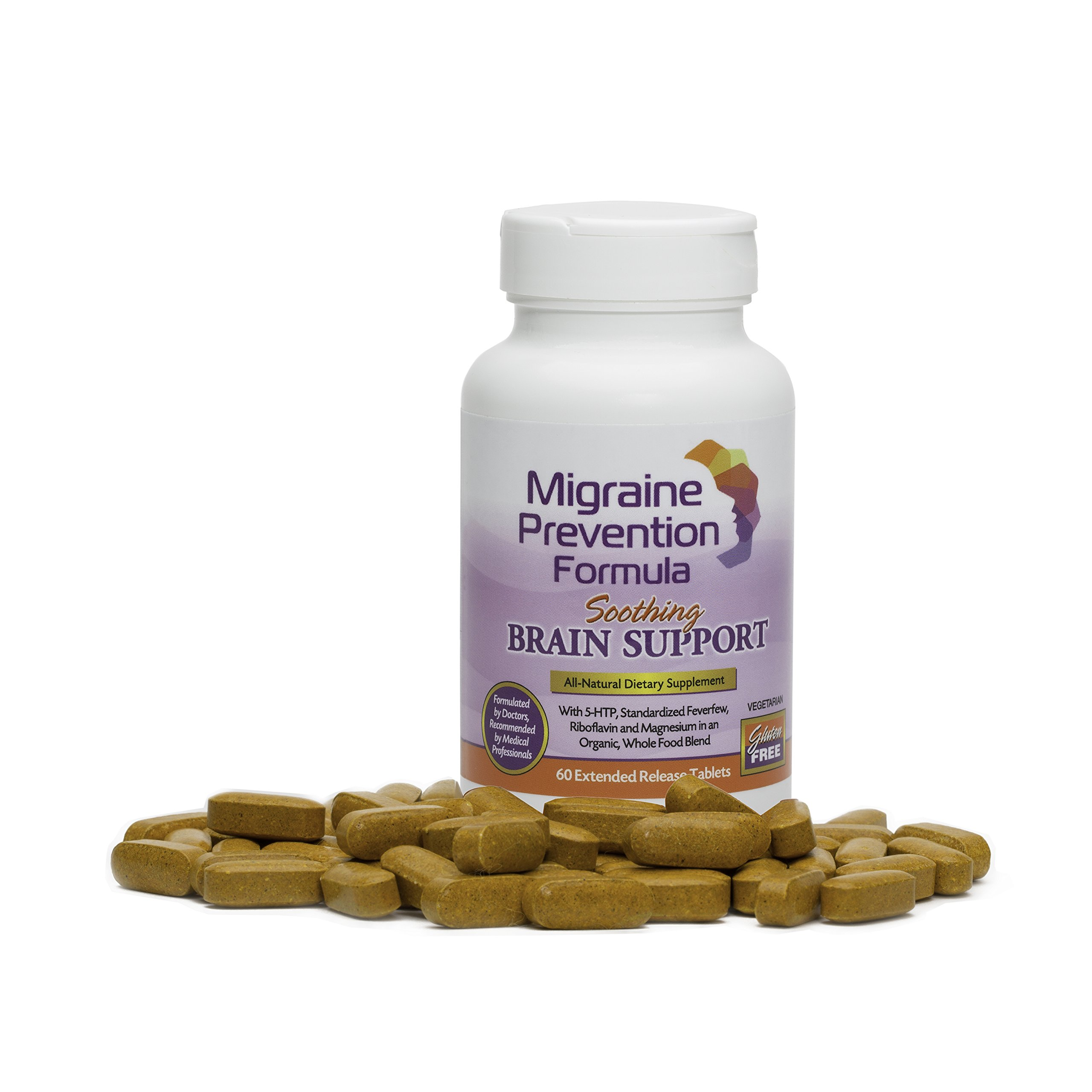 Dr. Knowles - Migraine Prevention Formula - 60 - Caplets - Headache Treatment and Relief - Prevent Migraines While You Treat by Free Shipping available! - Dr. Andrew Knowles - Anesthesiologist, Pain Management Specialist, treat / prevent migraines and episodic / chronic headaches