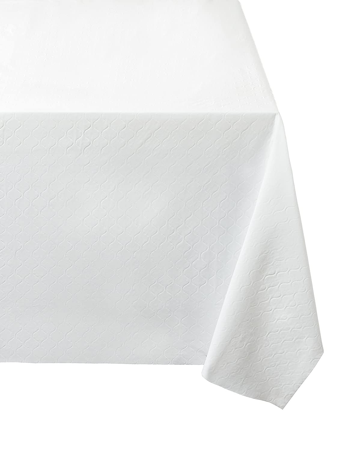 Violet Linen Deluxe Quilted Fiber Backing Table Pad, 52