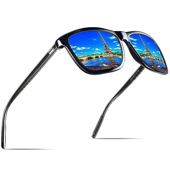KITHDIA Gafas de Sol Polarizadas Unisex Protección UV400 para hombres y mujeres Conducir Pescar Ir en bicicleta Esquiar Golf Aire Libre Viajes Playa - ...