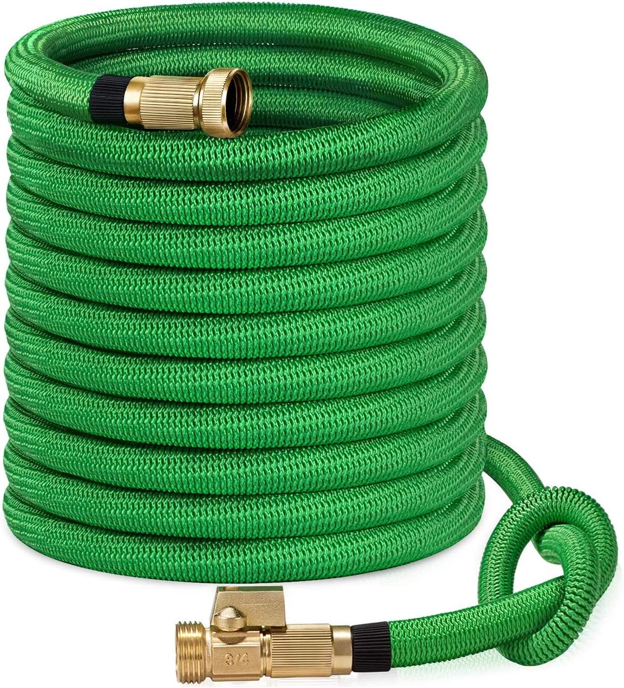 SunGreen 50ft Garden Hose, All New 2019 Expandable Water Hose with 3/4