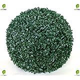 Sfera di bosso sintetico a & # x192; E & # x153; 28 Cm Papillon Colore Verde
