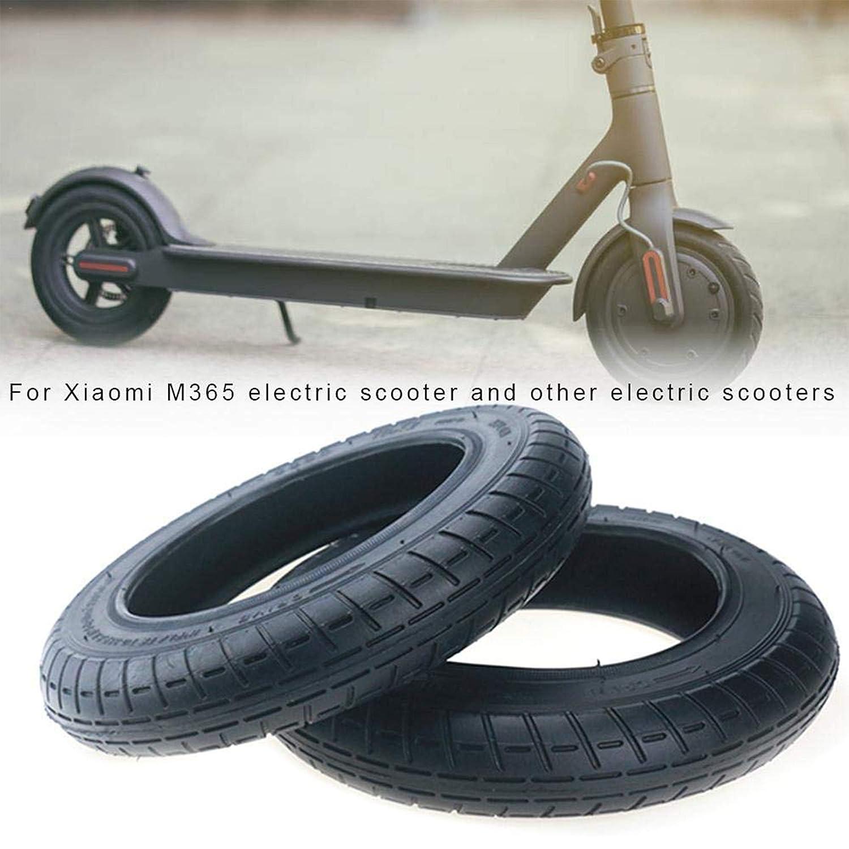Vestigia® - Par de Neumático de 10 Pulgadas para Xiaomi Mijia m Patinete Eléctrico - Cámara de Aire - Pack de Tubo Interior para Scooter Rueda Valvula ...