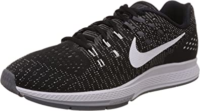 Nike Air Zoom Structure 19, Zapatillas de Running para Hombre, Negro (Black/White/Dark Grey/Cool Grey), 41 EU: Amazon.es: Zapatos y complementos