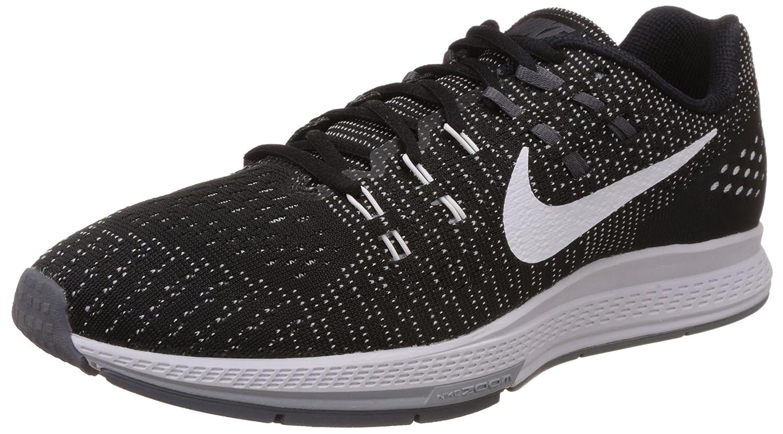 NIKE Mens Air Zoom Structure 19 Running Shoes B01603N2KK 12 B(M) US|Black/White-dark Grey-cool Grey
