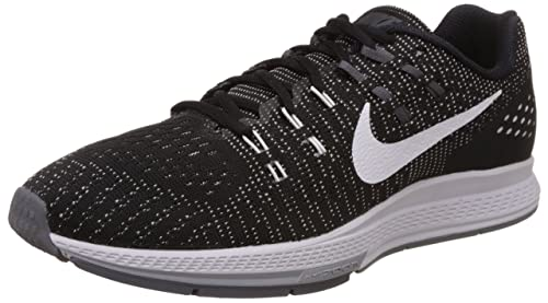 f0723f4483a021 Nike Men s Air Zoom Structure 19 Running Shoes Black  Amazon.co.uk  Shoes    Bags
