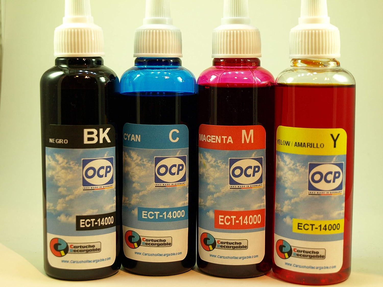 Tinta Marca OCP para Recarga de impresoras Tipo Eco Tank ET-14000 ...