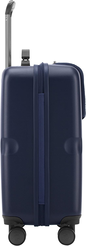 Valise rigide grande Bagage Trolley 4 Roues 110 litres Bleu fonc/é 74 cm Havel TSA HAUPTSTADTKOFFER