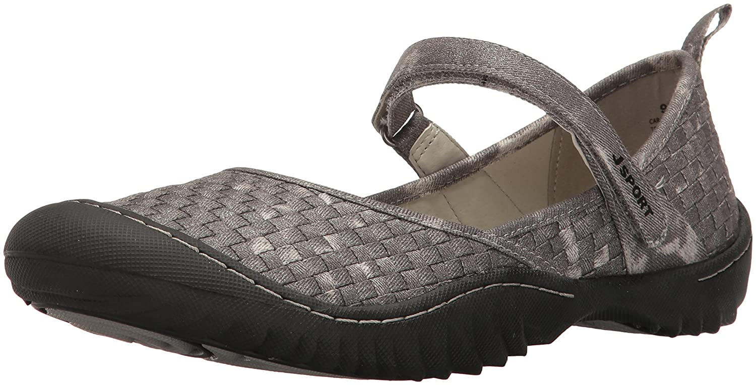 JSport by Jambu Women's Cara Mary Jane Flat B001YWES4M 11 B(M) US|Gunmetal