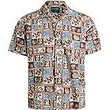 Gitman Vintage Men's Botanical Block Print Camp Shirt