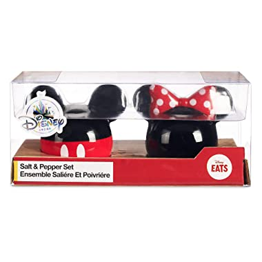 Disney Mickey and Minnie Mouse Icon Salt & Pepper Set - Disney Eats