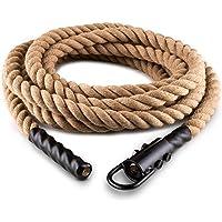 CapitalSports Power Rope Cuerda de Cáñamo para impulsar