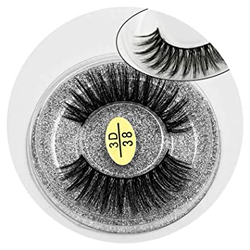 2daf9f3ff6c 3D Mink Eyelashes Natural Long False Lashes Full Strip Lashes Thick Faux  Mink Lashes HandMade False