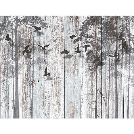 Fototapeten Abstrakt Holzoptik 352 x 250 cm Vlies Wand Tapete Wohnzimmer  Schlafzimmer Büro Flur Dekoration Wandbilder XXL Moderne Wanddeko - 100%  MADE ...