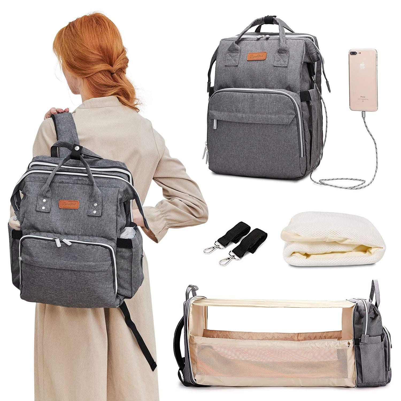 CUTIMAO high Elastic Portable Diaper Bag $42.49 Coupon