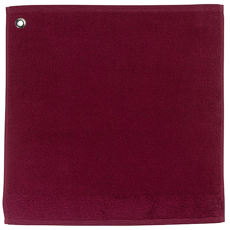Essuie mains /Œillet Curl rouge 50 x 50 cm Winkler