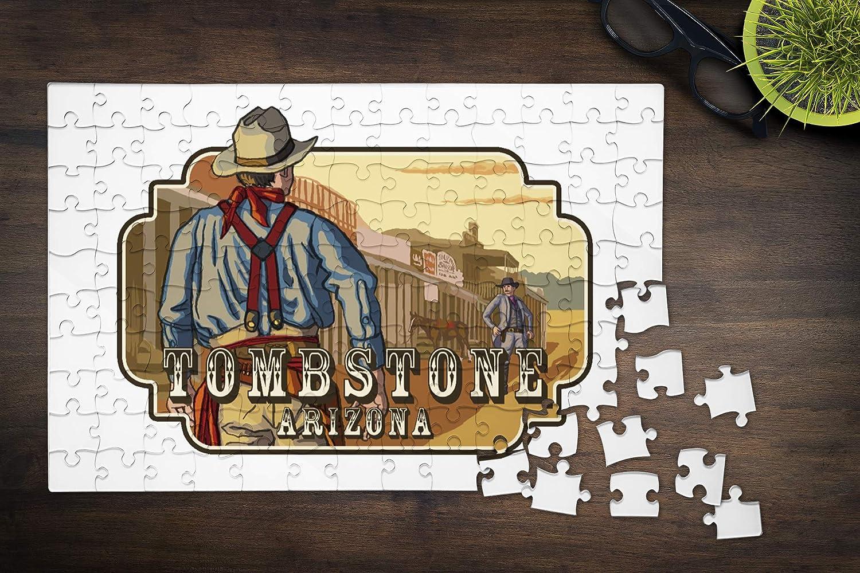 Amazon Com Tombstone Arizona Cowboy Standoff Badge