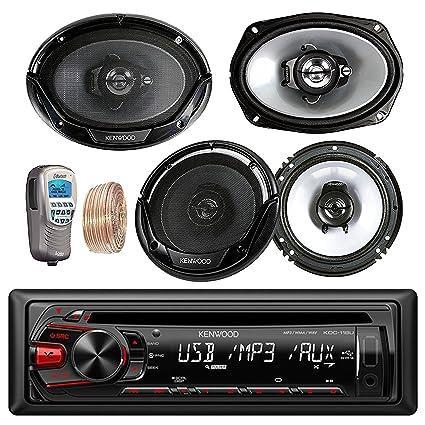 Amazon kenwood car in dash cd mp3 amfm aux usb radio stereo kenwood car in dash cd mp3 amfm aux usb radio stereo receiver remote keyboard keysfo Choice Image
