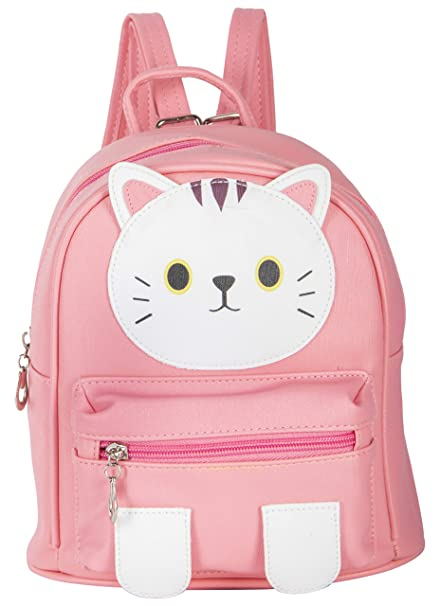 Shopigator Cute Mini Kitty Face Children S Backpack Kids Backpack