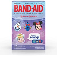 Band-Aid Adhesive Bandages, Disney Emoji Characters, Assorted Sizes, 20 Count (Pack of 24)