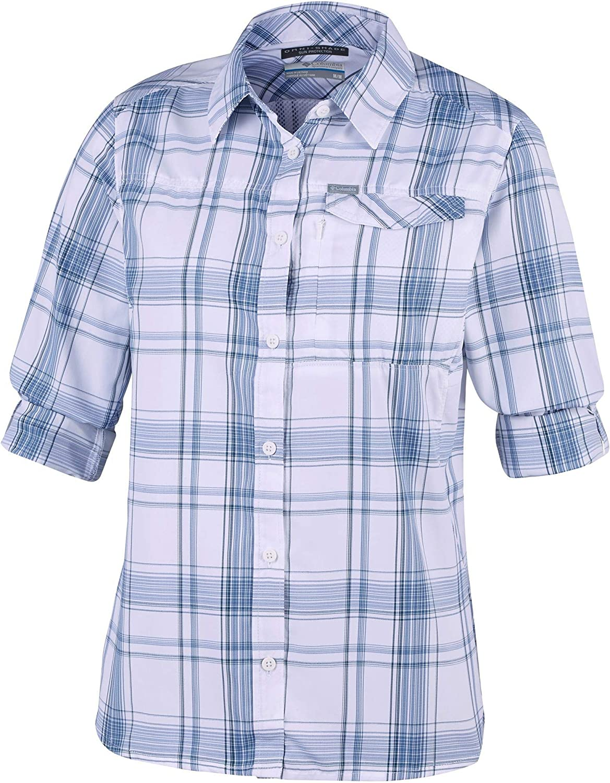 Columbia Silver Ridge 2.0 Plaid Long Sleeve Camisa para Mujer