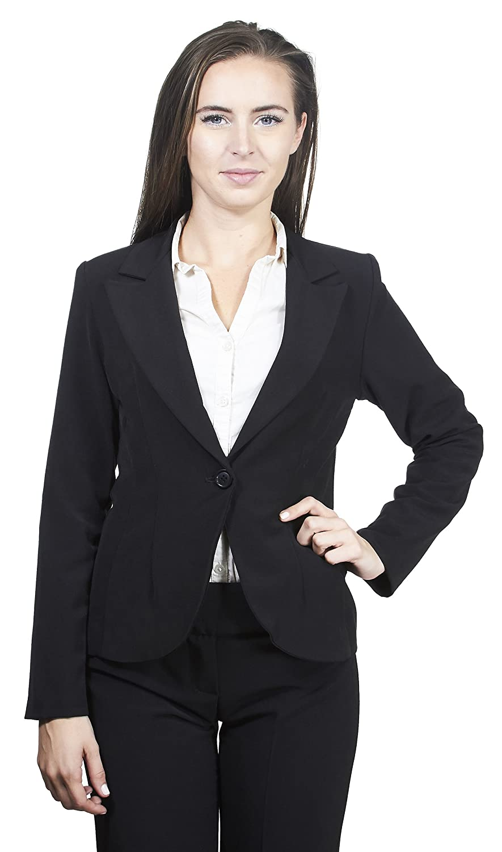 Fashion collection OUTERWEAR レディース B07771H24Q XL|ブラック ブラック XL