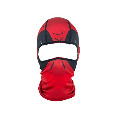 ZANheadgear Polyester Balaclava - Red Dawn: Automotive